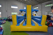 Hot sale inflatable bungee basketball for backyard