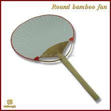 New coming economic designed round folding paper fan