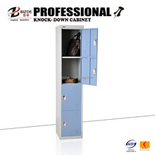 China supplier 4 compartments steel locker for clothing