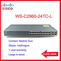 WS-C2960-24TC-L 24 port switch cisco 2960