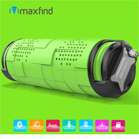 High quality fashion Orange,Blue,Green,Yellow portable outdoor IPX5 waterproof bluetooth mini speaker with hand free call