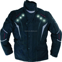 Wholesale Waterproof Cordura LED motorcycle jackets