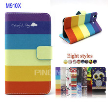 PU Leather Wallet Flip Cover Mobile Phone Case For HTC Desire Eye M910X