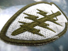 Exquisite fine detail Embroidery Patch sportswear design iron on badge
