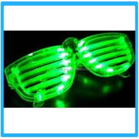 2015 The Fashion LED Light shutters Glow Glasses