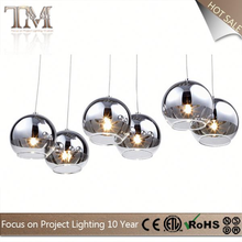 Professional OEM/ODM Factory Supply Custom Design modern black glass chandelier with good offer