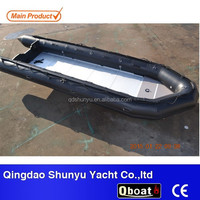 CE Certificate 5.3m 10 passengers folding military Inflatable boat for sale