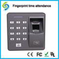 Rs232 RS485 biométrico de huellas dactilares de asistencia con tcp / ip FRID