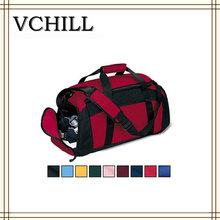 Alibaba China decent polyester sports duffle bag travel