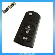 Three buttons remote control car key cover