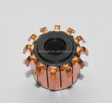 DC MOTOR OEM COMMUTATOR 10 bars hook type, Cheap competitive price used on power tools