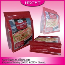 All kinds of cooked food printing plastic bags for supermaket