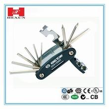 Professional bicycle tools Muti bike repair tool /16 In floding bicycle tool set