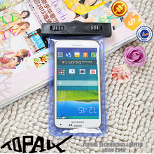 waterproof PVC material cell phone case,waterproof phone bag with armband