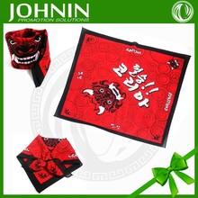 alibaba china wholesale screen printed custom cotton headbands bandana