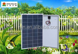 High quality low price small solar panel Chinese Ningbo flexible18V 95W poly solar panel