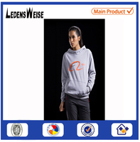 Wholesale Men's Padded Quilting Jacket with far OEM logo hoodie