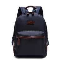 Classic Nylon match leather Backpack bag Good bag Manufacturer in Guangzhou