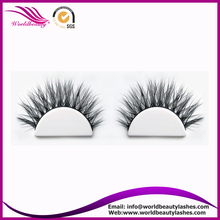 Hot sale private laberl service real siberian mink fur 3D lashes 3D001