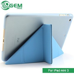 New ultra slim smart flip leather case cover for iPad mini 3