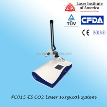 USA tube fractional wrinkle removal rf excited co2 laser