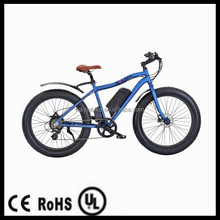 CE 48V 500W fat tyre electric bicycle beach cruiser
