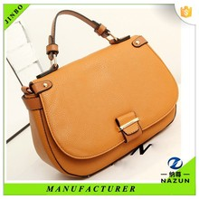 Alibaba new design women brown vintage hand bag from China