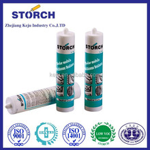 Acetic cure good adhesion to glass structural silicone sealant