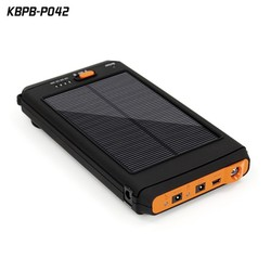 2016 high efficiency 19V Portable Solar Power Bank 12000mAh Emergency Charger for Laptop