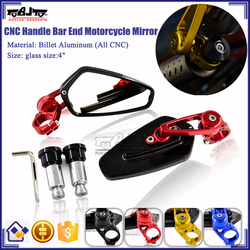 BJ-RM-061B For Motorcycle Honda CBR1000 CNC Aluminum Classic Chrome Side Mirror