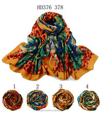 HD376 378 party dresses for girls of 18 years old hijab shawl and scarves European style supplier alibaba china