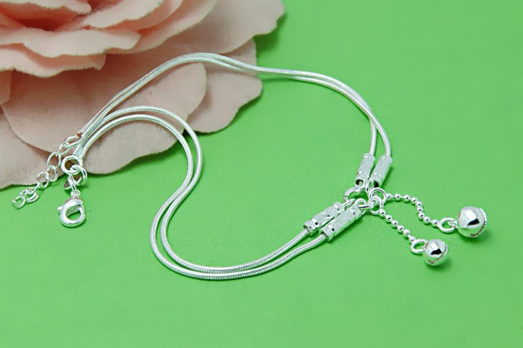 Нога ювелирные изделия и браслет для дамы, Компактный bell ножной браслет