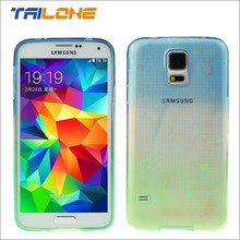 color changing transparent tpu clear custom phone case for samsung galaxy s6