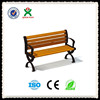 New design popular garden bench wood with planters,outdoor wood bench,wood bench with back QX-144D