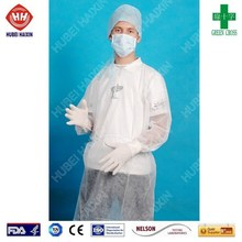 Disposable doctor's gowns blue color
