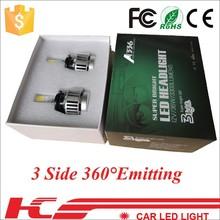 3300LUMS 12V 36W H7 best LED automotive high brightness headlight for toyota land cruiser