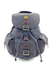 Fashion color blank canvas backpack blank backpack