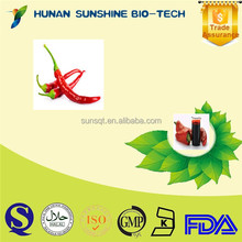 Organic 10%-40% Capsaicin Oleoresin Capsicum /Capsicum extract
