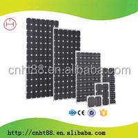factory direct price 100w per watt monocrystalline silicon solar panel