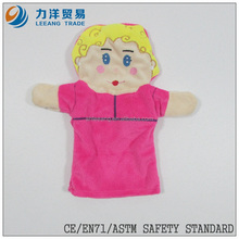 Plush hand/finger puppets, Customised toys,CE/ASTM safety stardard