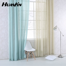 Luxury natural French linen lined curtain panel