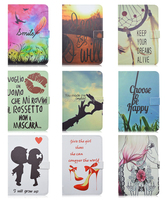 New Patterns Durable Folding Flip Stand PU Leather Tablet Cover Case For iPad Mini 4