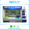 modern kids bunk bed double desk bed with stair 8202