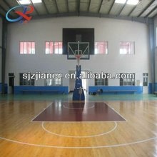 sports flooring/pvc basketball court/Plastic Sports Court