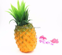 Premium Quality Realistic Looking Organic Artificial Pineapple For Fake Fruit Props Display