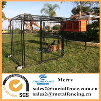 7'X8'X48'' universal welded wire dog kennel/chicken coops with wire top
