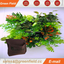 Plants on wall Artificial and high quality vertical garden grow bags