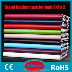 Lichi Pattern Tablet Folder Case Customerized Sublimation Leather Case For Ipad 2