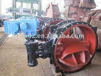 1200mm cast iron butterfly valve of Tieling