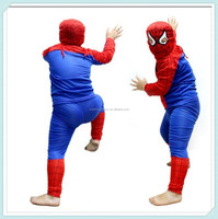 NEW Children's Cartoon Character Costume Spider Man Costume Accessories for Child Boy's Holloween Costume Uniform for Kids S/M/L